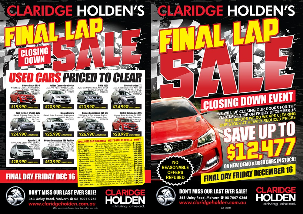 Claridge Holden | Print Ad | Marketing Catalyst